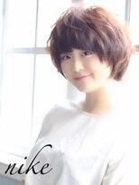 【nike池袋】小顔ショート☆外国人風カラー☆8stepハホニコ☆