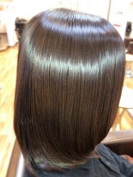 エレファントノーズの写真/3種類のトリートメントの中から、あなたの髪質に合わせてご提案◎ツヤ,ハリを取り戻して上質なオトナ髪へ♪