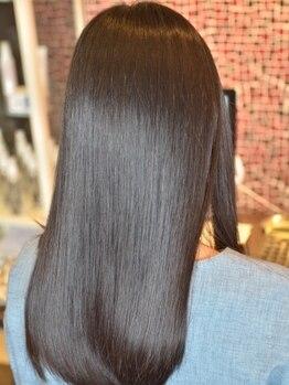 ルチェリス(LUCELISS)の写真/電子トリートメント正規取扱店八潮店!使い続けることで髪本来の美しさが得られますトリートメント使用が◎
