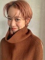 ベルビアンカ(Belle BIANCA)Belle BIANCA 前髪ワンカール巻き×耳掛けショート by.マツモト