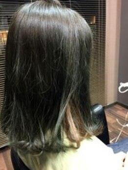 ヘアラウンジ チェルシー(Hair lounge CHELSEA)の写真/《イルミナカラー導入》雑誌やSNSで話題の外人風カラー★オーガニックカラーも取扱い!個性に合わせた色味を