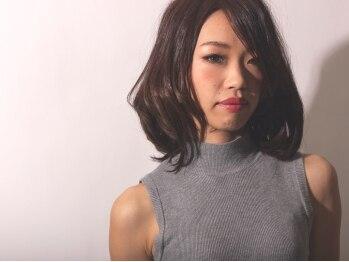 ラディアント 泉南店(Radiant)の写真/デザイン性と再現性の高いカット技術!!キレイなシルエットとキレイに収まるスタイルに♪