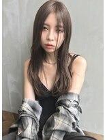 アンジェリカ ハラジュク(Angelica harajuku)【Angelica】グレージュカラーブルージュカラー似合わせカット