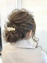 【結婚式】およばれヘアセット♪