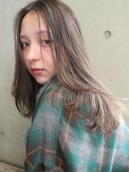 ロマリア(Lomalia)の写真/[乾かすだけでキマる]髪質を見極めた、ナチュラルで再現性のあるCUTを追求。毎日乾かすだけでキマる。