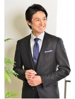 イメージア 用賀店(IMAGE A)スーツに似合うメンズショートスタイル