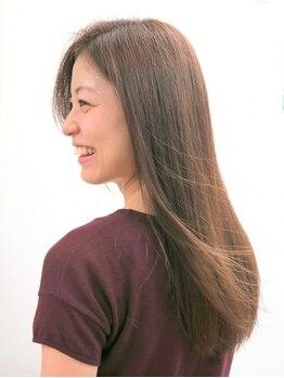 ヘアメイク モニカ(Hair Make Monica)の写真/【特許取得★ヘアリセッター】前髪割れやくせ毛のうねりにお悩みの方必見!特殊なツールでお悩み解消♪