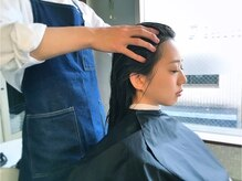 人気☆ダブルケアヘッドスパコース(60分¥6480)☆フルフラットシャンプー台で極上の癒しと潤いの艶髪を♪