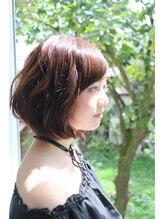 ヘアーメイク ハート(hair make HEART)ナチュラル☆ボブ☆パーマ☆アッシュ
