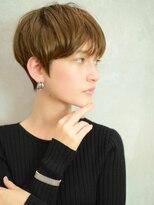 ベックヘアサロン 広尾店(BEKKU hair salon)前髪束感で作る大人かわいいマッシュショートヘア☆
