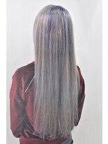 ヘアーサロン エール 原宿(hair salon ailes)(ailes 原宿)style408 デザインカラー☆ホワイトラベンダー