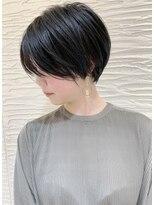 【morio札幌】札幌髪型大人かわいい黒髪ショートボブ