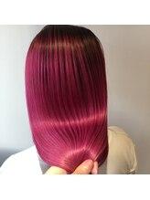 ヘアサルーンフラミンゴ(Hair saloon FLAMINGO)ツヤWカラー