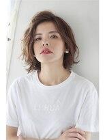 モッズ ヘア 海浜幕張店(mod's hair)大人カジュアルニュアンスボブ ANGELE 2013-14A/W