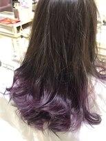 『Lee nishinomiya』紫×グラデーションカラー