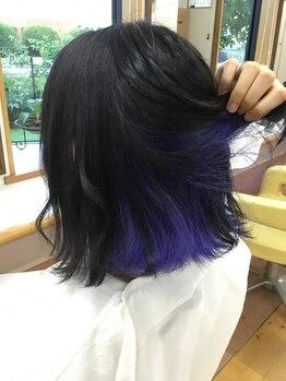"""美容室 ナガタ(NAGATA)の写真/""""色落ちしてもキレイな色""""でカラー長持ち!!"""