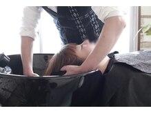 ヘアメイク フラリ(hair&make fulari)の雰囲気(後頭部を支えてくれるパットがあるので首が圧迫されません)