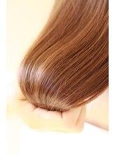 髪にやさしい美容室…トリートメントをテーマにしたナチュラルストレート(縮毛矯正)