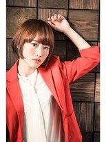 ミンクス ギンザ(MINX ginza)【MINX銀座】オフィス女性髪型。 2018年人気の広瀬すず風ボブ