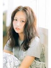 ヘアラウンジ アンリオ(hair lounge an rio)☆センターかきあげウェーブ☆