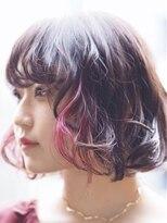 アルゴンキントウキョウ(THE ALGONQUIN TOKYO)インナーにピンク!!