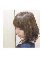 ナノハナ鹿沼で唯一本格ヘッドスパが出来る美容室 女子力アップヘアー