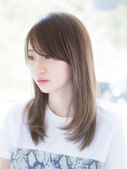 ルーチェ(Luce)の写真/ダメージレスで自然な仕上がり♪《縮毛矯正(デザインカット込)+リンケージTR(ホームケア付)¥15400》