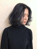 ブロック ジャポン(bloc japon)低めのレイヤーで上品な質感ボブ・レディ・フレンチ・フェアリー