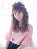 オジコ(ojiko)☆月曜日営業☆ojiko.大人可愛い柔らかカールハーフアップ