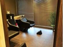 ルシエルブルー(LE CIEL BLEU)の雰囲気(半個室のリラックスできる空間で癒しのシャンプー&スパタイム♪)