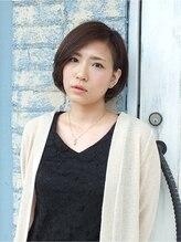 ガルボアルファ 上島店(Garbo α)スウィングカールショートボブ【モデル20代・撮影リクルート】