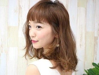 カリーナヘアー(carina hair)の写真/【向日町】紹介で広まったアットホームサロン☆目が離せない、真似したくなるヘアースタイルに!