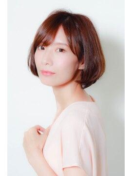 ミンクス 銀座店(MINX)【MINX 蛭田】大人可愛い★やわらか耳掛けボブ