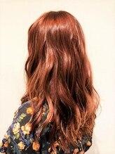 ルクステラスヘアサロン(Luxe Terrace hair salon)【秋冬にトレンド】ラブリー×ローズピンク