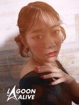 LAGOON ALIVE 亀田一磨 ☆ツインテールアレンジ☆