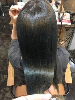 ナナイロ(NANAIRO)の写真/【髪質改善◎】髪質改善はトリートメントとは違う!こだわりの髪質改善で内側から潤う美髪へと…。
