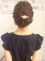 ゆるめヘアセット~結婚式、2次会