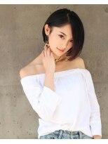 【Ciel_KAZU】ワンサイドインナーカラー×くびれミディ
