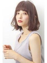 ヘアサロンガリカアオヤマ(hair salon Gallica aoyama)☆ ボルドーグレージュ ☆ オン眉 ワンカール 小顔 bob ☆