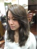 ヘアーアンドメイク ポッシュ 新宿店(HAIR&MAKE POSH)外国人風!グレージュカラー