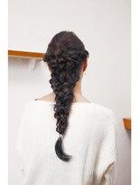 ヘアーサロン セプト(Hair Salon Sept)編み込みアレンジ[ダウン]