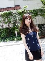 モニカ 横須賀中央店(Monica)♪斜めバングのふわモテロング♪【横須賀中央】
