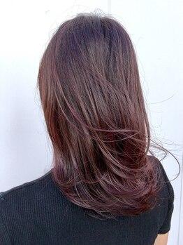 スリー ヘア ラウンジ(THREE hair lounge)の写真/【フローディア&リンケージ取り揃え♪】超音波トリートメントでダメージを修復し、潤いを持続◎