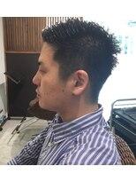【coma中野】直毛におすすめ☆刈り上げ7:3ヘアー