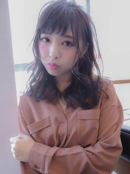 レシェル 松阪(RECIEL)の写真/髪への負担を極限まで抑え、透明感のある美しい髪色へ。こだわりの最高品質のカラー剤使用☆