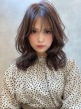 アグ ヘアー ハイク 佐久3号店(Agu hair hike)《Agu hair》ショコラカラーの艶モテ×ヨシンモリ
