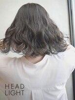 フローレス バイ ヘッドライト 三鷹店(hair flores by HEADLIGHT)ネイビーブルー×シースルーハイライト