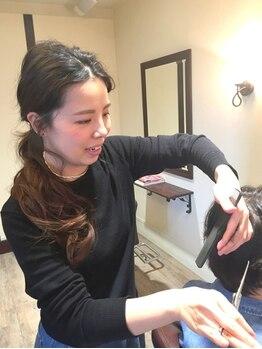ラヴァッシュ(La Vache)の写真/再現性の高いカットが得意♪お客様に寄り添い、毎日が楽しく過ごせる髪型を一緒に考えご提案致します!