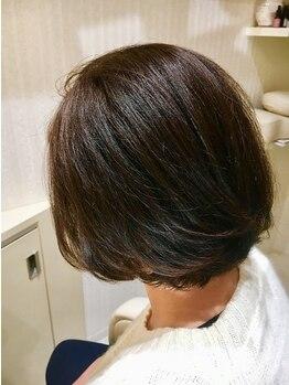 ルーチェ ヘアー ヒーリング(Luce hair healing)の写真/最近気になってきた白髪…「上手くカバーしながらお洒落な色味を楽しみたい!」そんな方にオススメ。