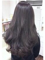 ヘアーデザイン キャンパス(hair design Campus)【イルミナRカラー☆】クリアバイオレットグレイッシュ
